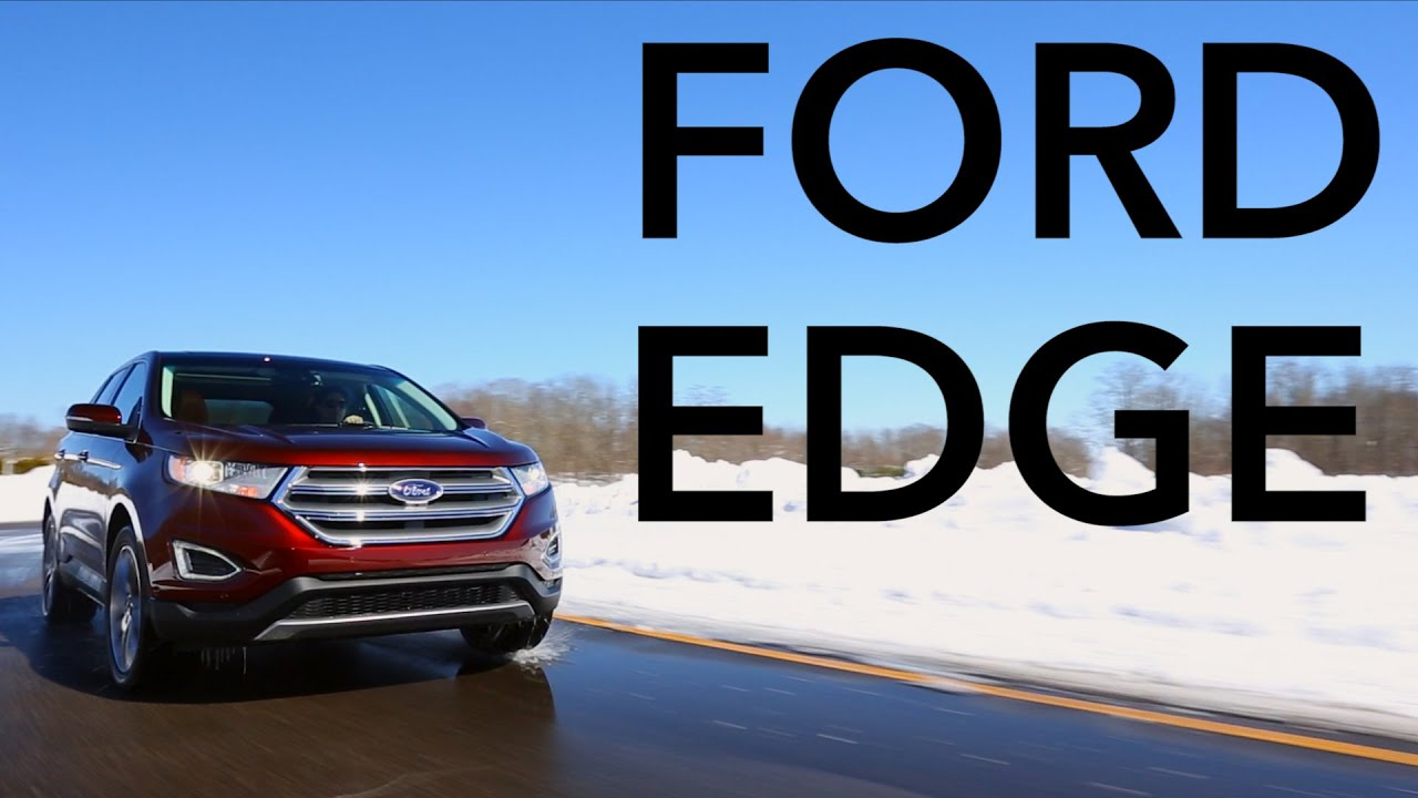 2015 Ford Edge Quick Drive Consumer Reports Youtube