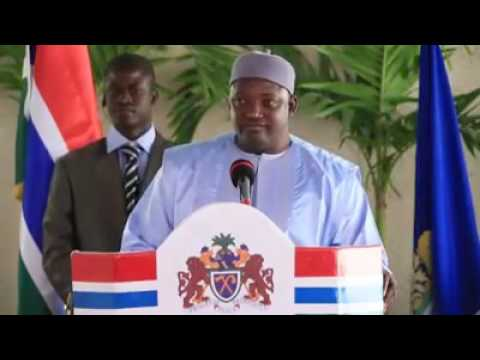 H.E. Adama Barrow's 1st Press Conference as President of The Gambia