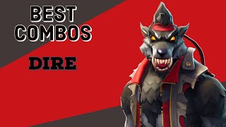 Best Combos | Dire | Fortnite Skin Review