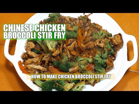 How to make Chicken Broccoli - Chicken Broccoli - Chinese Chicken Broccoli