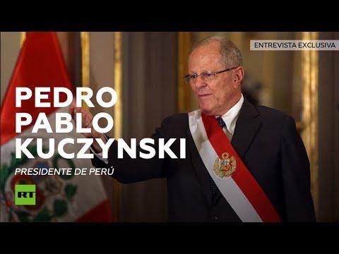 """Nos opondremos al muro de México"" - Entrevista con Pedro Pablo Kuczynski, presidente de Perú"