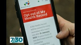 Baixar How safe is your data in the new My Health Record? | 7.30
