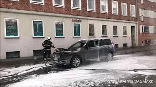 07.02.2019 - Ild i bil - Gladsaxe
