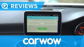 Mercedes A-Class 2017 Hatchback infotainment and interior | Mat Watson Reviews