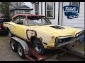 1970 Dodge Super Bee garage move in