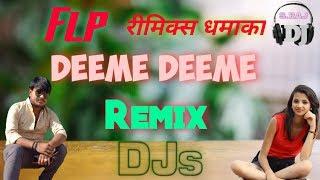 Flp   Tujh Mein Nasha Hai Tony Kakkar   Dj Remix Song   Dheeme Dheeme Remix   Latest Tik Tok Song
