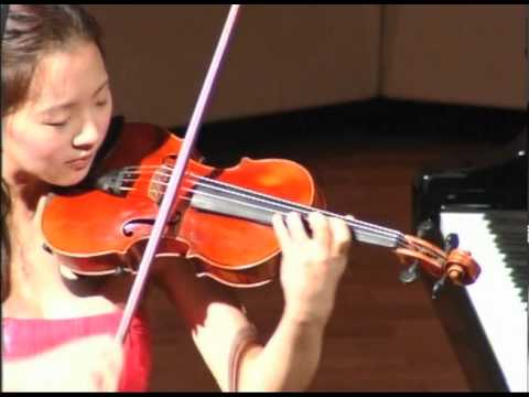 Ji Eun Anna Lee - Ysaye Sonata - Sonata No 6 in E major, Manuel Quiroga