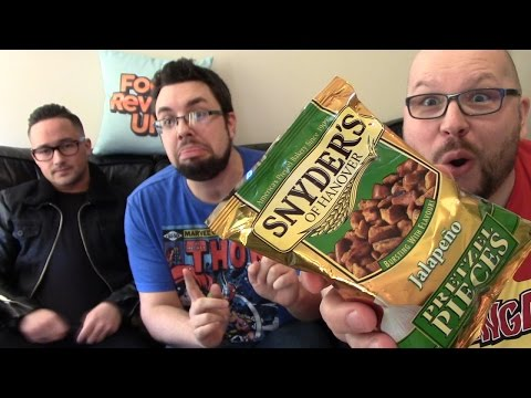 Snyders Of Hanover Jalapeno Pretzel Bites Review