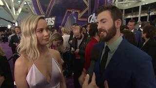 The Clash at Demonhead (Brie Larson and Chris Evans)