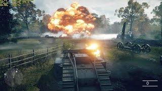 §353 - Battlefield 1 - Big explosion effect at ammunition depot (Ultra Settings)