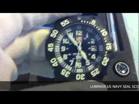 LUMINOX US NAVY SEAL SCOTT CASSELL UHR 3054.SET www.olfert.co