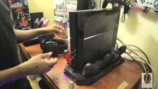 Ortz Super Charging Station PS4 Unboxing