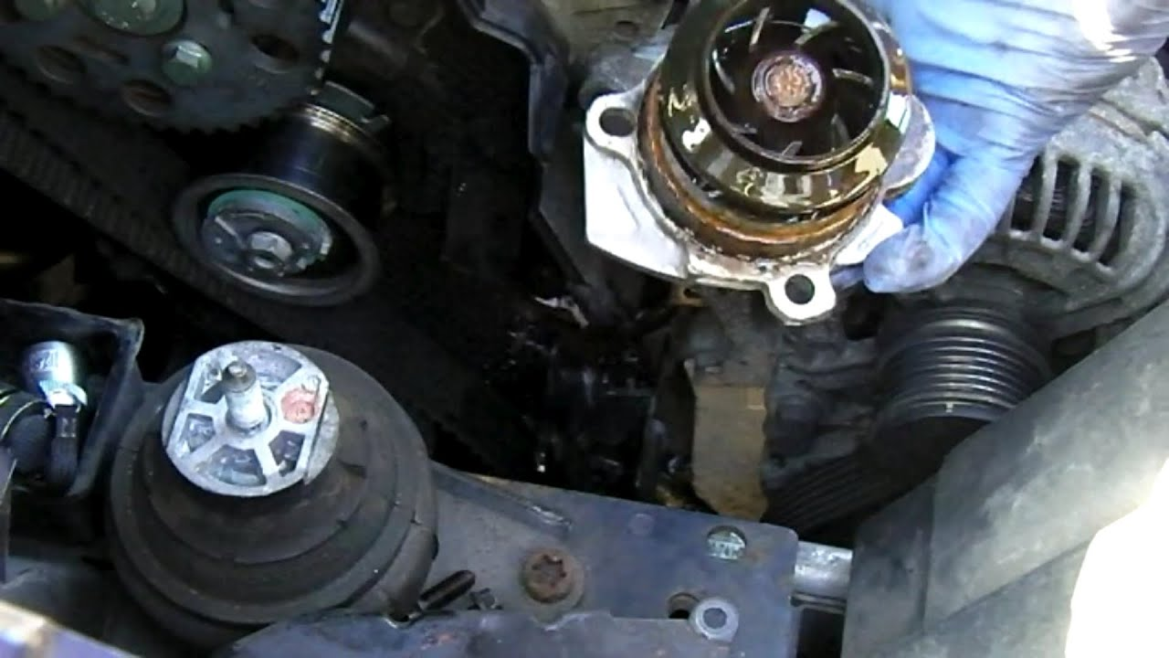 Ford       Galaxy    19 tdi mk2 WATER PUMP REMOVAL  YouTube