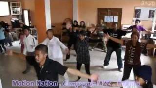 chorgraphie flashmob jij 2011 by fmg compagnie m2z motion nation