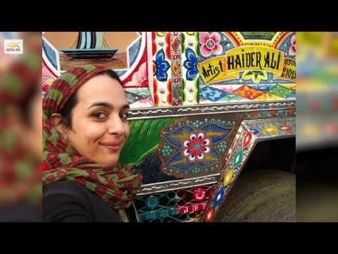 "Master of TRUCK ART ""Haider Ali"" - Phool Patti - Karachi, Pakistan"