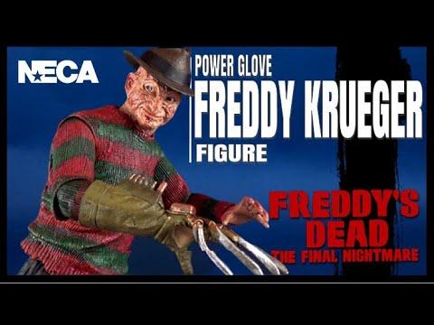 Throwback   NECA Freddy's Dead the Final Nightmare Powerglove Freddy Krueger Figure