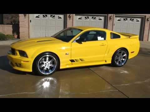 Sold 2006 Mustang Saleen Only 1500 Miles S81 Sc Super Charged