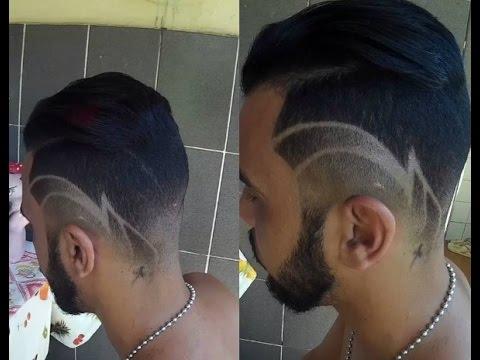 desenho cabelo disfarado