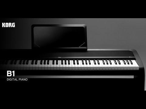 korg b1 digital piano introduction youtube. Black Bedroom Furniture Sets. Home Design Ideas