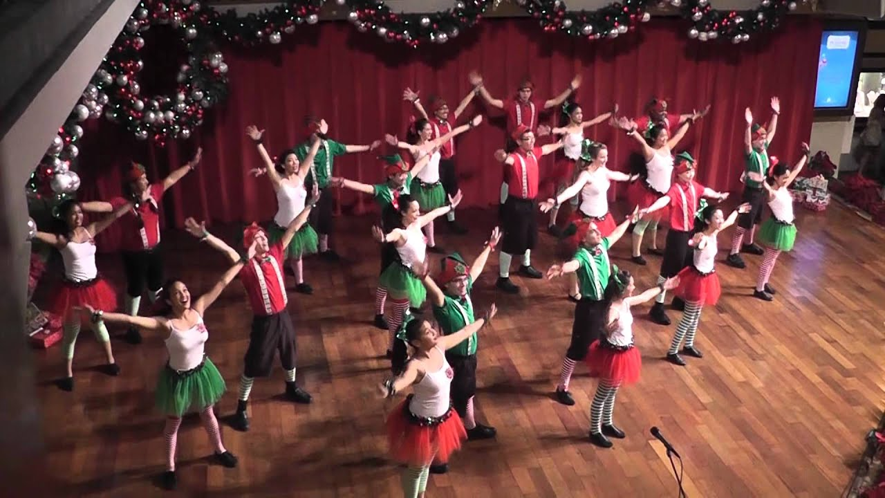 We Need A Little Christmas (GLEE)-Paliku Academy of Performing ...