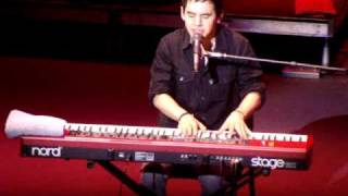 Desperate, David Archuleta, Rockford IL