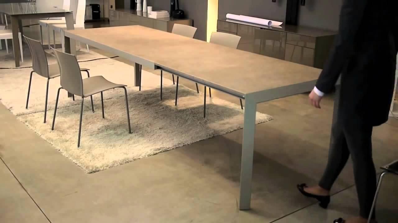 arredamentopari.com - tavolo allungabile Izac Bontempi - YouTube
