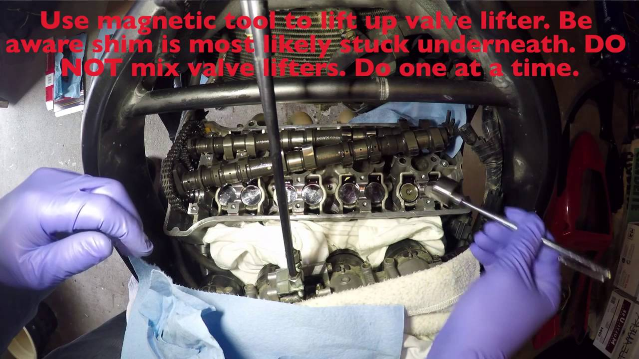 How To Do Valve Clearance Adjustment On A Cbr600 F4i