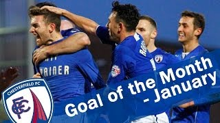 January 2014 - Goal of the Month