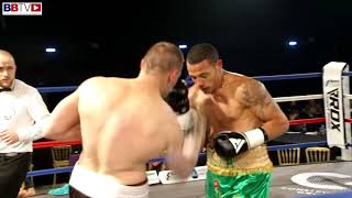 DIEGO COSTA VS NORBERT SZEKERES - BBTV - BLACK FLASH PROMOTIONS 2/3/18