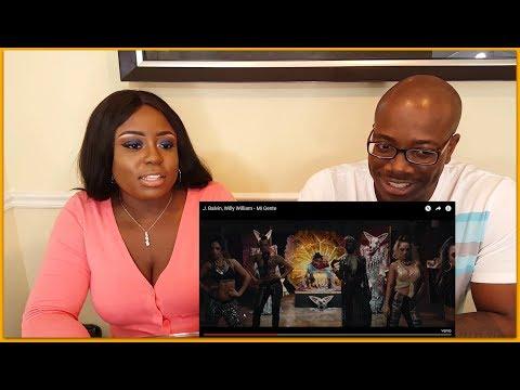 J. Balvin, Willy William - Mi Gente Reaction 😉| BLACK PEOPLE REACT