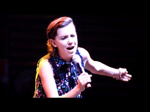 HD| Millie Bobby Brown singing