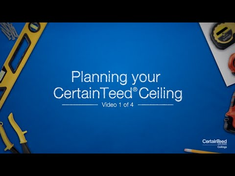 Planning Your CertainTeed® Ceiling