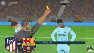 Barcelona vs atletico  madrid 4-0 all goals & highlights -la liga 16/4/2018  dream league boss