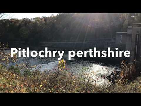 Pitlochry Scotland/ Dam And Fish Ladder/ HD 1080