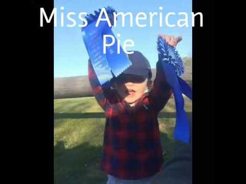 Kate. Miss American Pie