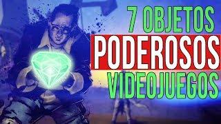 Top 7 Objetos mas PODEROSOS en los Videojuegos   Objetos, Items y Reliquias mas BADASS