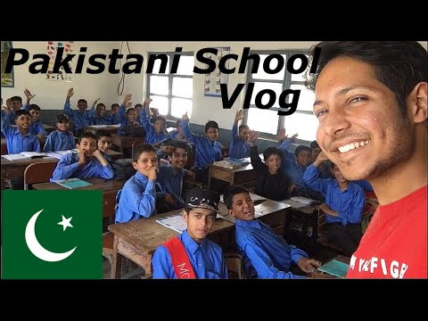 I (INDIAN) visited Pakistani School (Vlog 19)