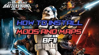 Star Wars Battlefront II How to install mods and maps windows 8