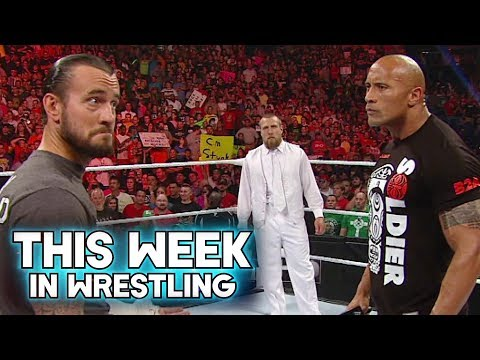 This Week In Wrestling: CM Punk Turns Heel On The Rock At WWE RAW 1000 (July 23rd)
