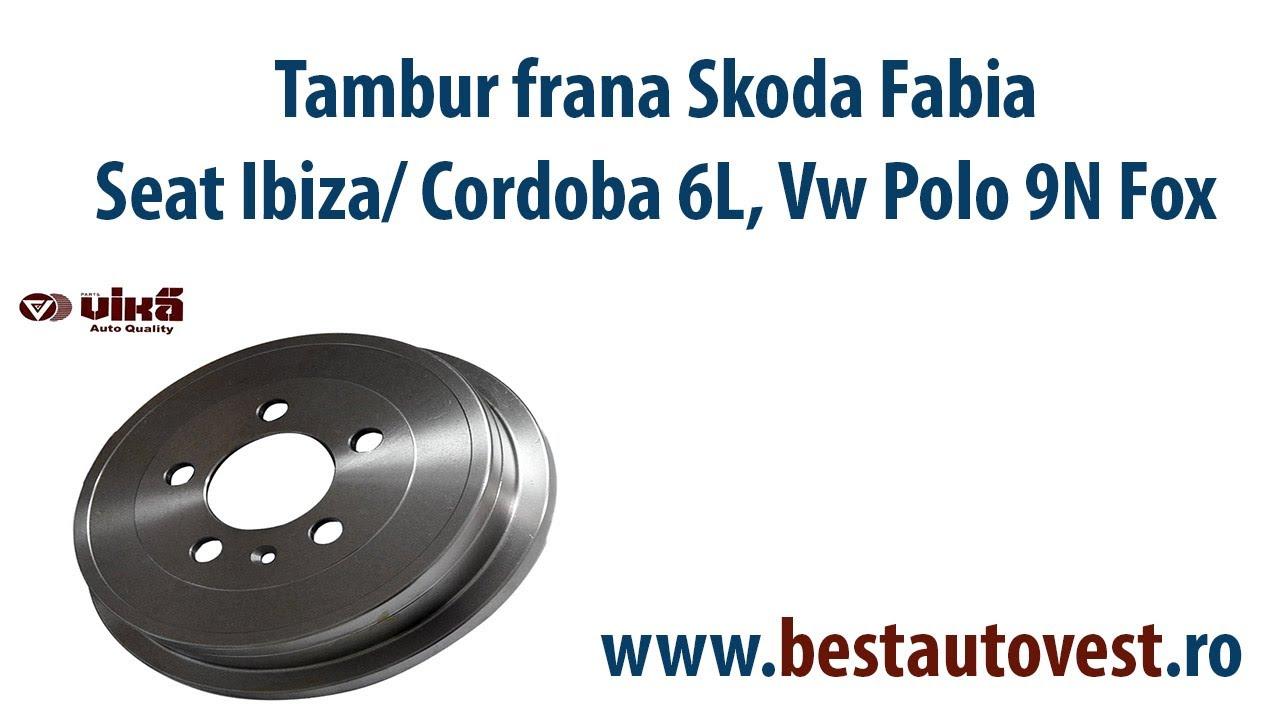 Tambur Frana Skoda Fabia, Seat Ibiza, Cordoba 6L, Vw Polo