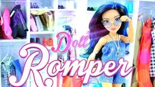 DIY - How to Make: Doll Romper - Handmade - Crafts