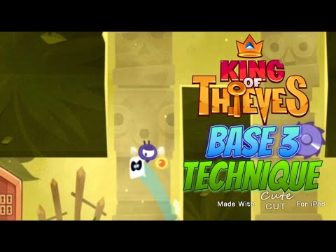 King of Thieves - Base 3 - Perfect Corner Jump into High Pressure Saw Dive Jump