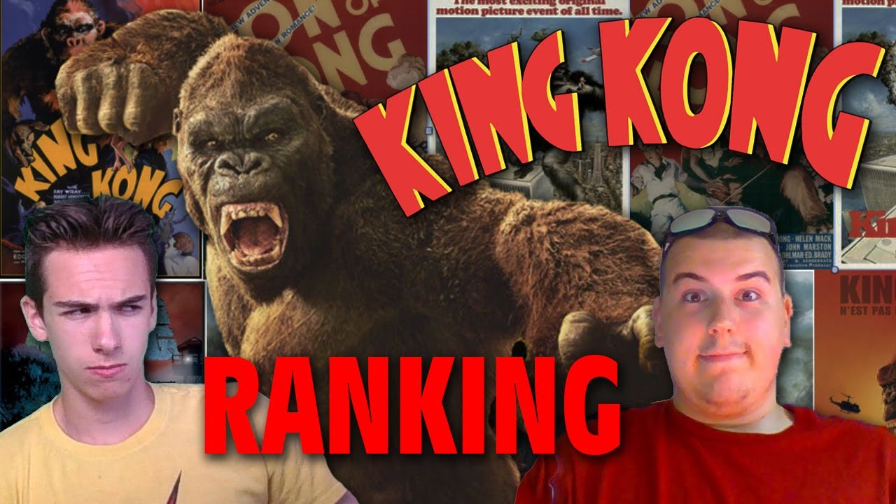 Ranking the KING KONG Films w/ Nick Jackson