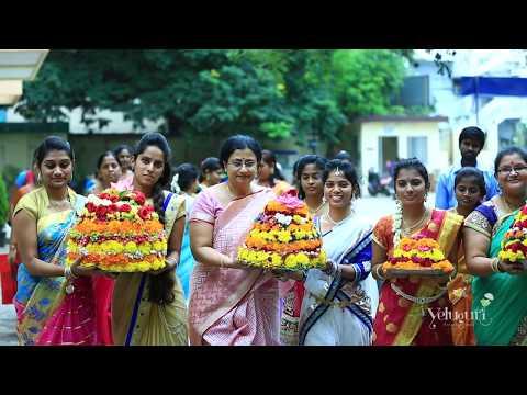 Kasturba Gandhi Degree & PG College for Women  Dussehra 2017 Celebrations