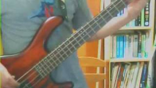 Eric Clapton - Wonderful tonight (bass cover)