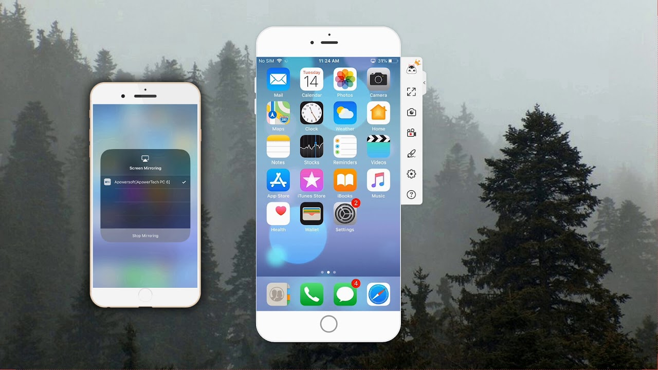 How to Screen Mirroring iPhone 6 to PC