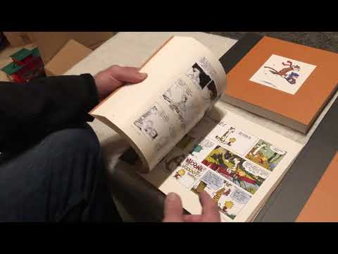 CALVIN AND HOBBES THE COMPLETE SET - UNBOXING AND REVIEW from YouTube · Duration:  6 minutes 54 seconds
