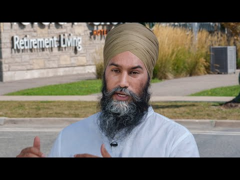 Singh pledges to end for-profit long-term care if elected