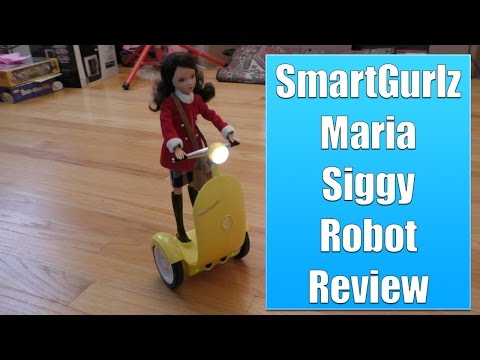 SmartGurlz Siggy Robot Maria Review, A Fashion Doll That Teaches Coding?