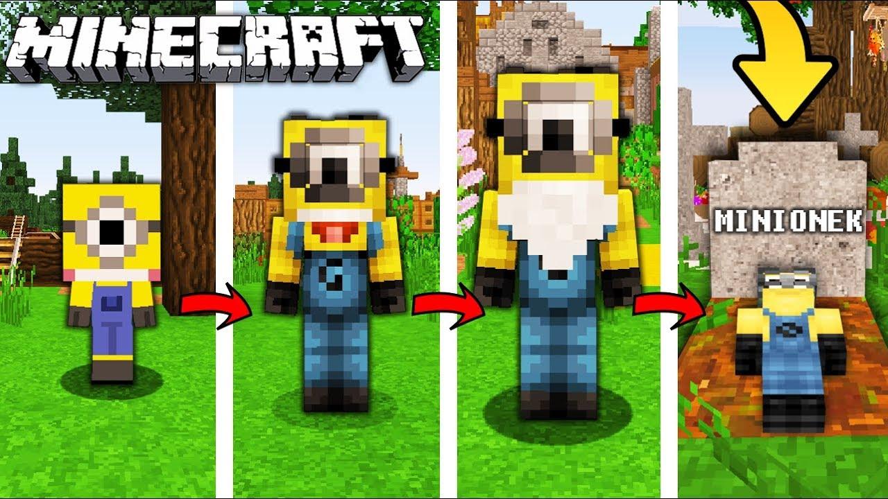 życie Minionka W Minecraft Od Narodzin Do śmierci Gplay